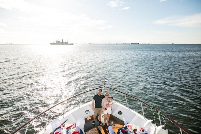 Nautical Yacht Birthday Party on Kara's Party Ideas   KarasPartyIdeas.com (6)