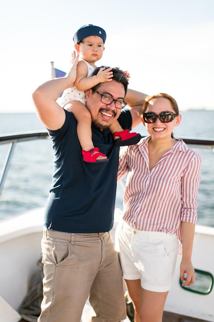 Nautical Yacht Birthday Party on Kara's Party Ideas   KarasPartyIdeas.com (5)