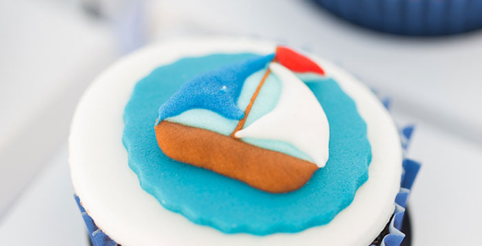 Nautical Yacht Birthday Party on Kara's Party Ideas | KarasPartyIdeas.com (4)