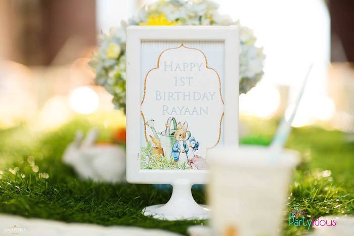 Peter Rabbit Print from a Peter Rabbit Birthday Party on Kara's Party Ideas | KarasPartyIdeas.com (30)