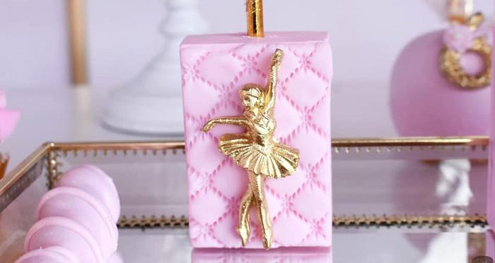Pink Ballerina Birthday Party on Kara's Party Ideas | KarasPartyIdeas.com (4)