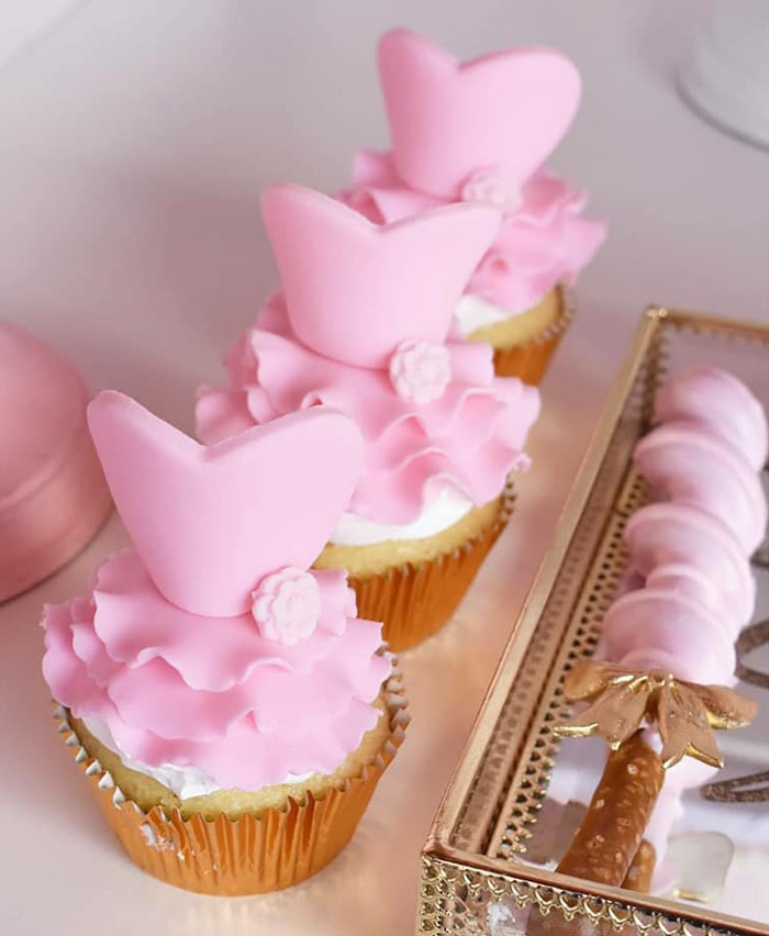 Ballerina Tutu Cupcakes from a Pink Ballerina Birthday Party on Kara's Party Ideas | KarasPartyIdeas.com (16)