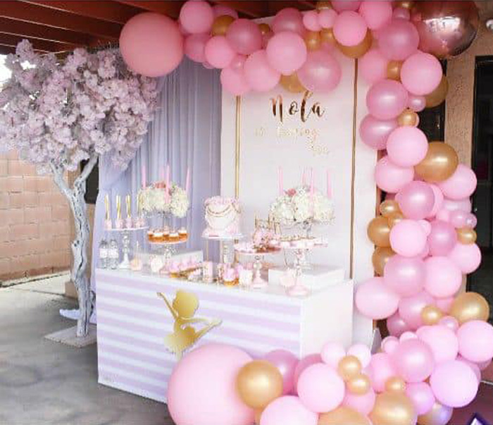 Pink Ballerina Birthday Party on Kara's Party Ideas | KarasPartyIdeas.com (15)