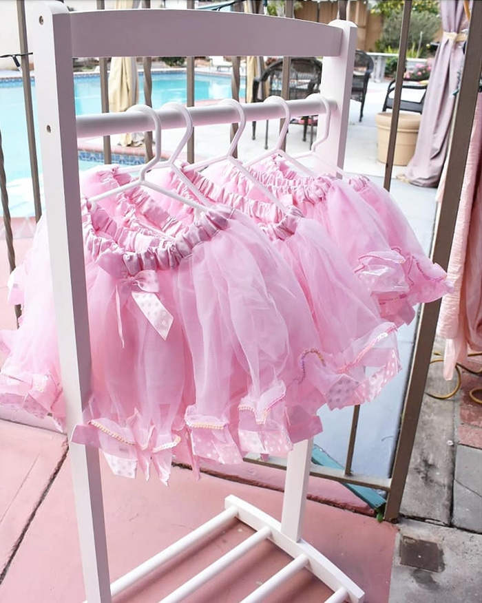 Pink Tutus from a Pink Ballerina Birthday Party on Kara's Party Ideas | KarasPartyIdeas.com (10)