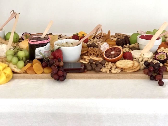 Charcuterie Platter from a Pink & Rose Gold Birthday Party on Kara's Party Ideas | KarasPartyIdeas.com (7)