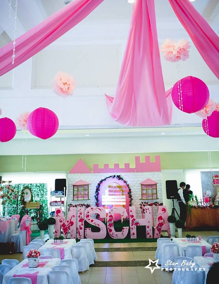 Pink and Gold Princess Party on Kara's Party Ideas | KarasPartyIdeas.com (18)