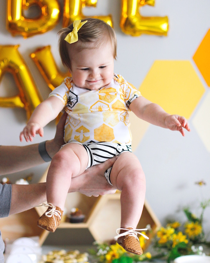 Bee Outfit from a Queen Bee Birthday Party on Kara's Party Ideas | KarasPartyIdeas.com (7)