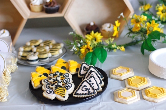 Honey Bee Sweets from a Queen Bee Birthday Party on Kara's Party Ideas | KarasPartyIdeas.com (17)