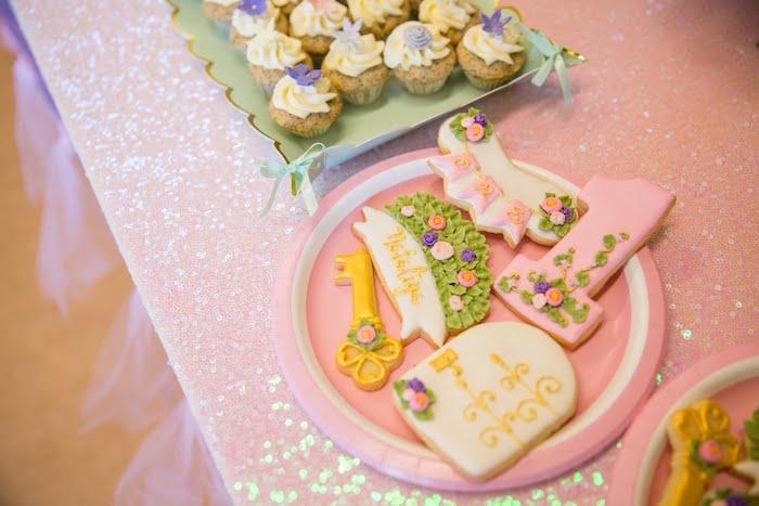 Garden Themed Sweets from a Secret Garden Birthday Party on Kara's Party Ideas | KarasPartyIdeas.com (6)