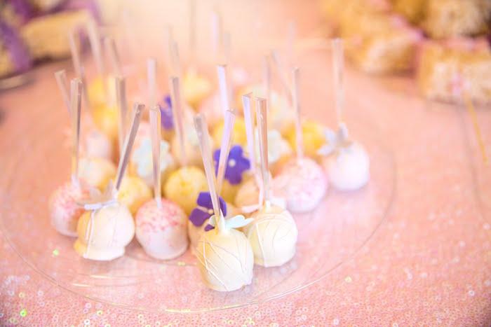 Cake Pops from a Secret Garden Birthday Party on Kara's Party Ideas | KarasPartyIdeas.com (21)