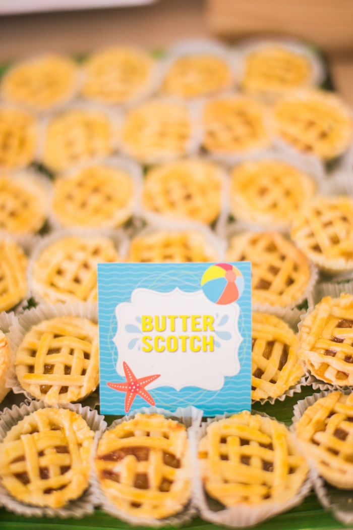 Butter Scotch from a Surf & Summer Birthday Pool Party on Kara's Party Ideas | KarasPartyIdeas.com (25)