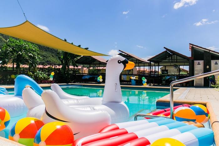 Surf & Summer Birthday Pool Party on Kara's Party Ideas | KarasPartyIdeas.com (6)