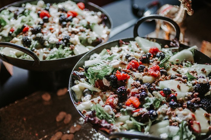 Salad from The Greatest Showman Inspired Circus Party on Kara's Party Ideas | KarasPartyIdeas.com (9)