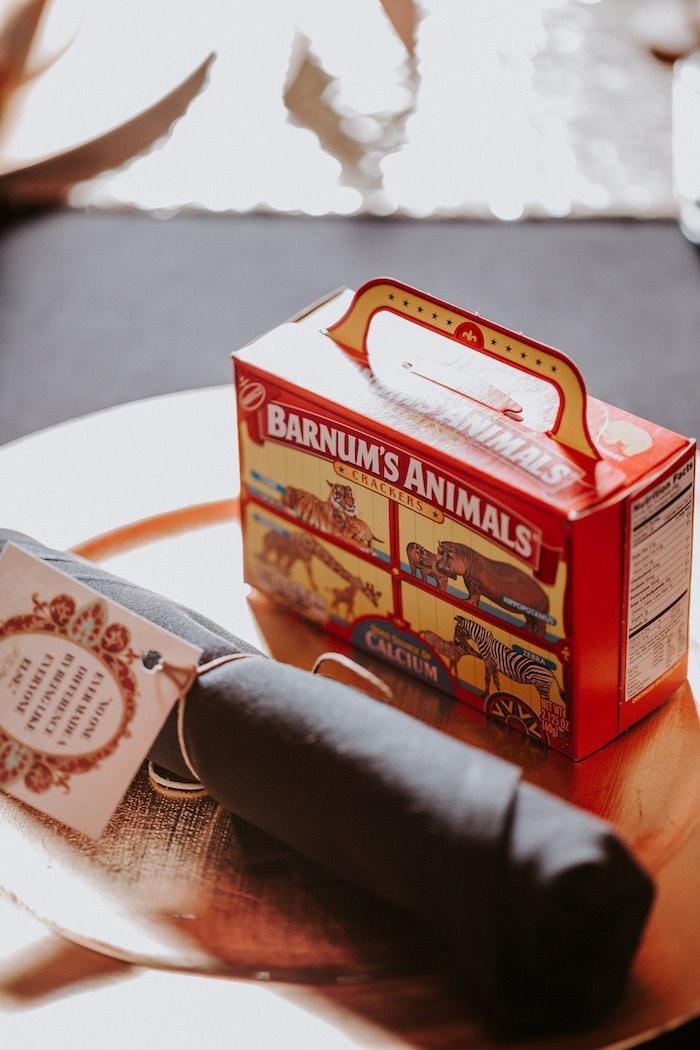 Barnum's Animal Crackers from The Greatest Showman Inspired Circus Party on Kara's Party Ideas | KarasPartyIdeas.com (21)