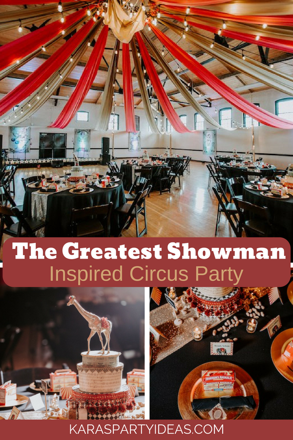 The Greatest Showman Circus Party via Kara_s Party Ideas - KarasPartyIdeas.com