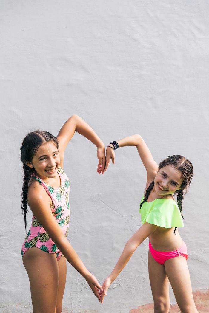 Tropical Flamingo Pool Party on Kara's Party Ideas | KarasPartyIdeas.com (18)