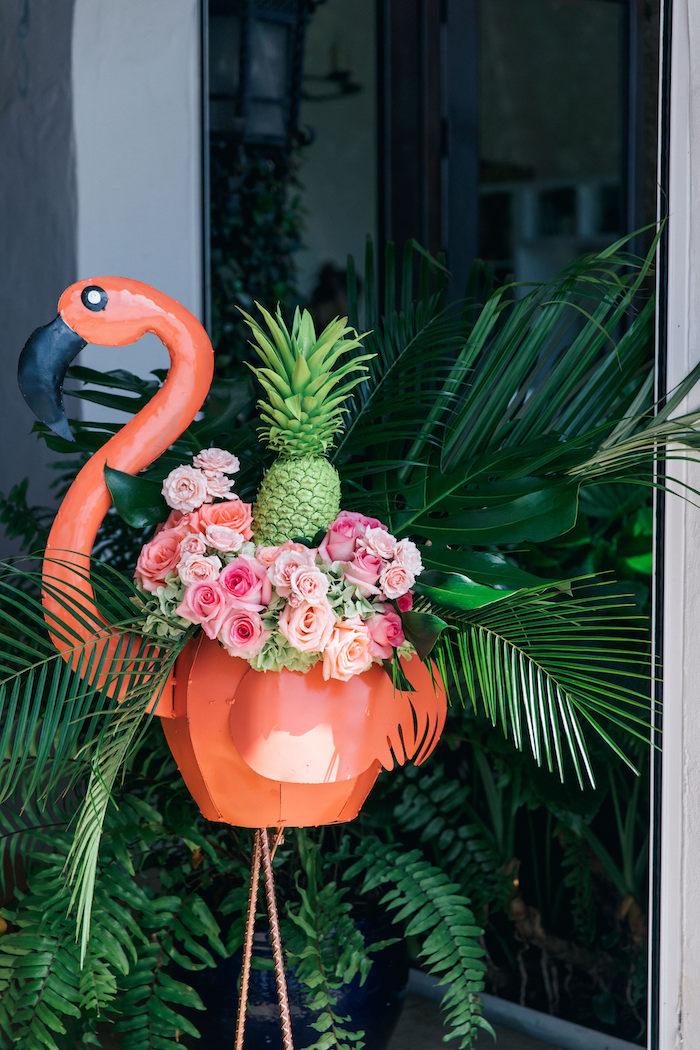 Kara S Party Ideas Tropical Flamingo Pool Party Kara S