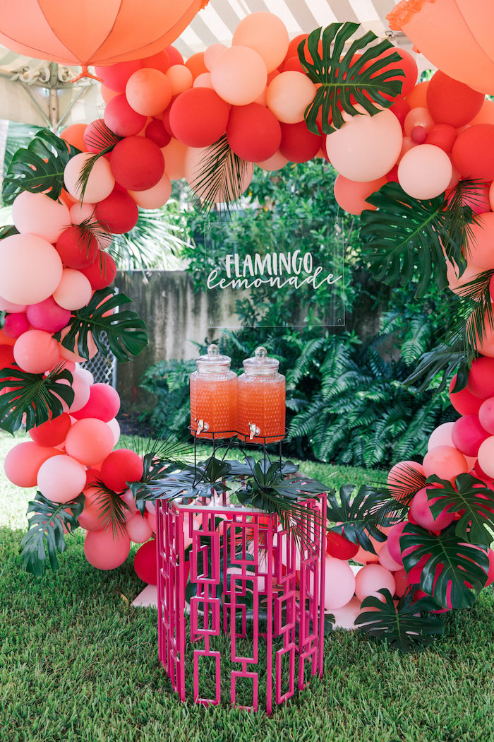 Tropical Christmas Party Ideas.Kara S Party Ideas Tropical Flamingo Pool Party Kara S Party Ideas