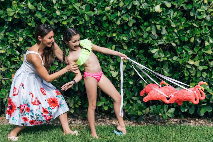 Tropical Flamingo Pool Party on Kara's Party Ideas | KarasPartyIdeas.com (8)