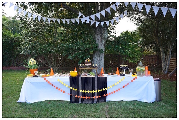 Construction Themed Dessert Table from an Under Construction Birthday Party on Kara's Party Ideas | KarasPartyIdeas.com (13)