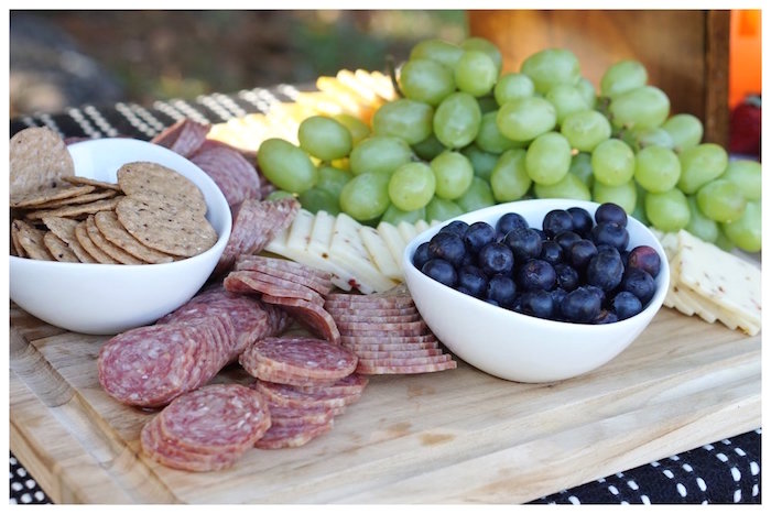 Charcuterie Plate from an Under Construction Birthday Party on Kara's Party Ideas | KarasPartyIdeas.com (9)