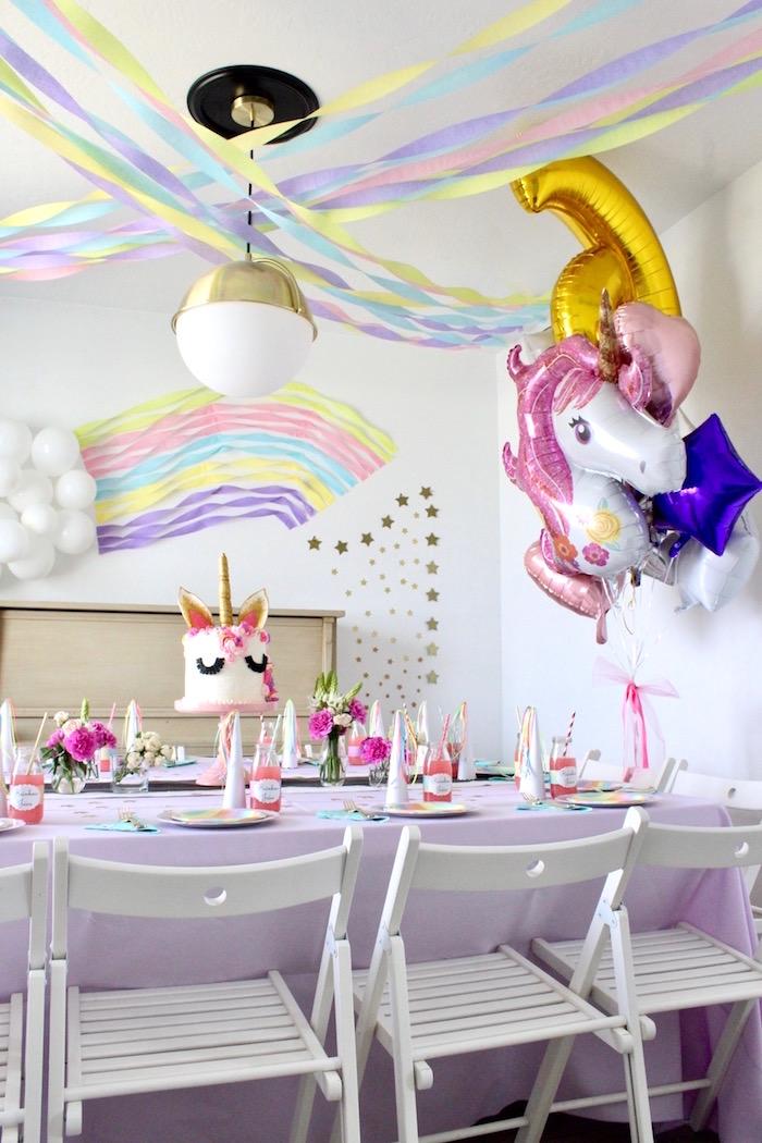 Unicorn Birthday Party on Kara's Party Ideas | KarasPartyIdeas.com (14)