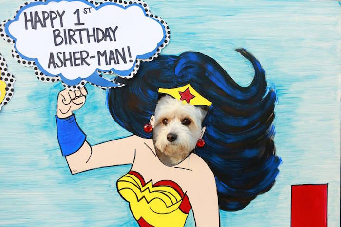 Vintage Comic Book Superhero Party on Kara's Party Ideas | KarasPartyIdeas.com (21)