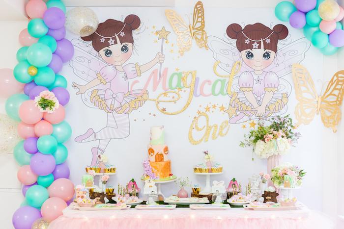 Whimsical Fairy Birthday Party on Kara's Party Ideas | KarasPartyIdeas.com (22)