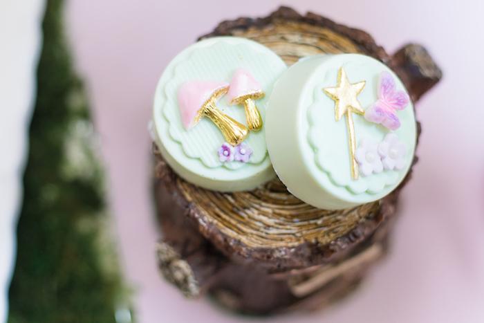 Fairy Oreos from a Whimsical Fairy Birthday Party on Kara's Party Ideas | KarasPartyIdeas.com (19)