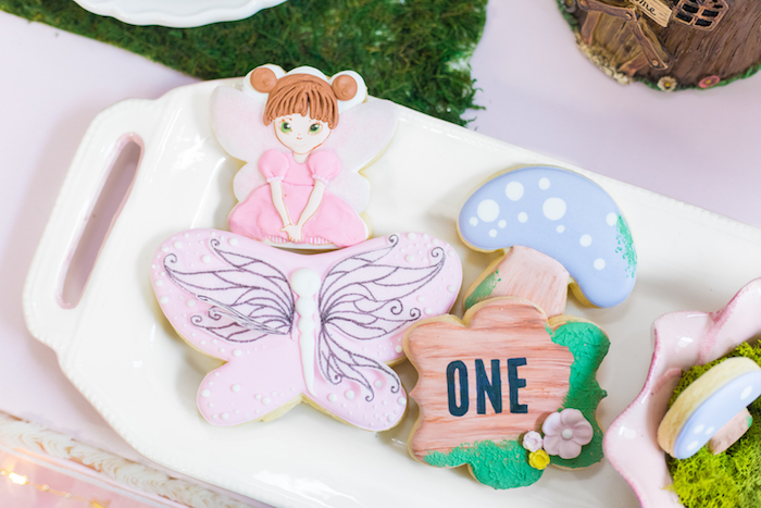 Cookies from a Whimsical Fairy Birthday Party on Kara's Party Ideas | KarasPartyIdeas.com (18)