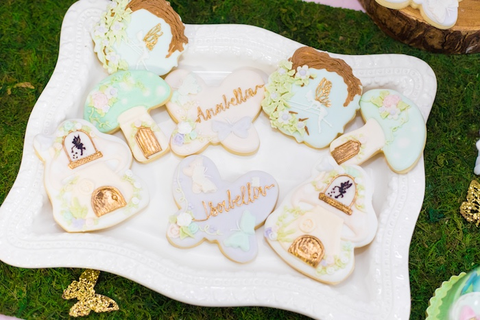 Cookies from a Whimsical Fairy Birthday Party on Kara's Party Ideas | KarasPartyIdeas.com (16)