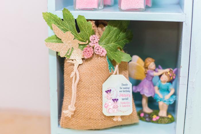 Fairy Favor Sacks from a Whimsical Fairy Birthday Party on Kara's Party Ideas | KarasPartyIdeas.com (12)