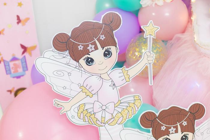 Fairy from a Whimsical Fairy Birthday Party on Kara's Party Ideas | KarasPartyIdeas.com (9)