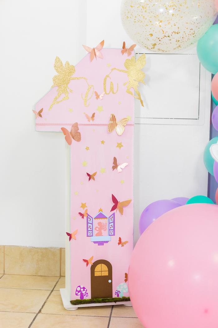 Butterfly One from a Whimsical Fairy Birthday Party on Kara's Party Ideas | KarasPartyIdeas.com (7)