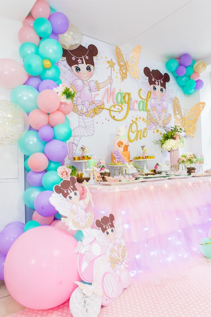 Whimsical Fairy Birthday Party on Kara's Party Ideas | KarasPartyIdeas.com (6)