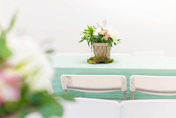 Guest Table from a Whimsical Fairy Birthday Party on Kara's Party Ideas | KarasPartyIdeas.com (5)