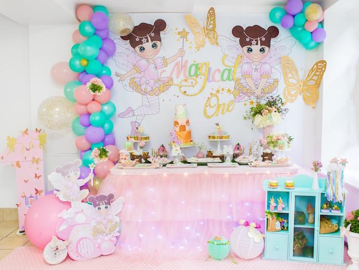 Whimsical Fairy Birthday Party on Kara's Party Ideas | KarasPartyIdeas.com (4)