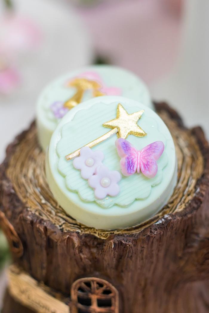 Fairy Oreos from a Whimsical Fairy Birthday Party on Kara's Party Ideas | KarasPartyIdeas.com (33)