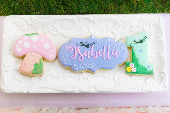 Cookies from a Whimsical Fairy Birthday Party on Kara's Party Ideas | KarasPartyIdeas.com (30)