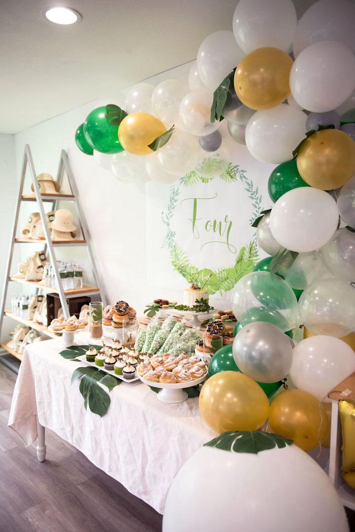 Wild & Free Jungle Birthday Party on Kara's Party Ideas | KarasPartyIdeas.com (13)