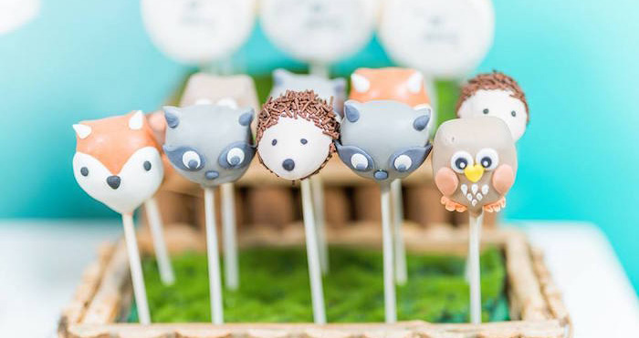Winter Woodland Birthday Party on Kara's Party Ideas | KarasPartyIdeas.com (2)