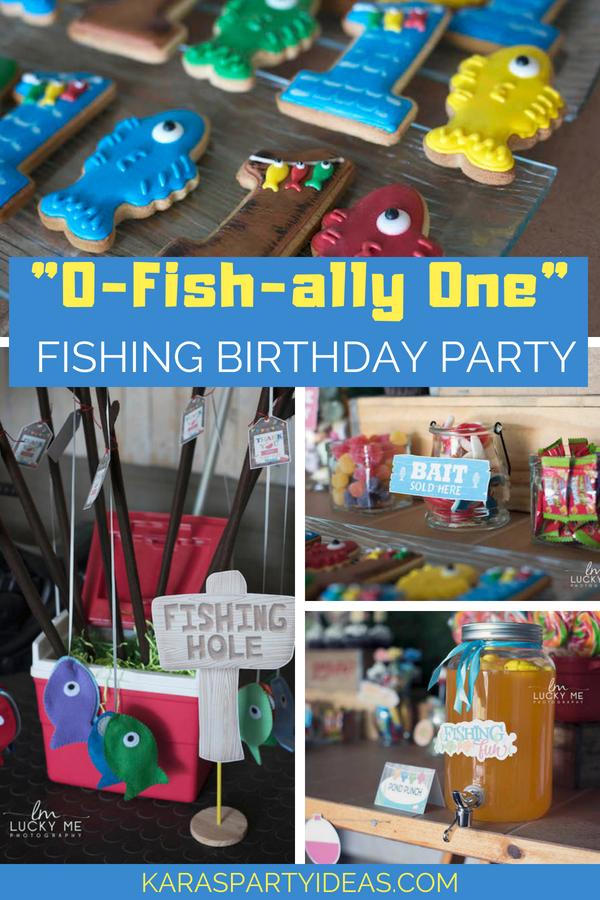 Kara S Party Ideas Quot O Fish Ally One Quot Fishing Birthday