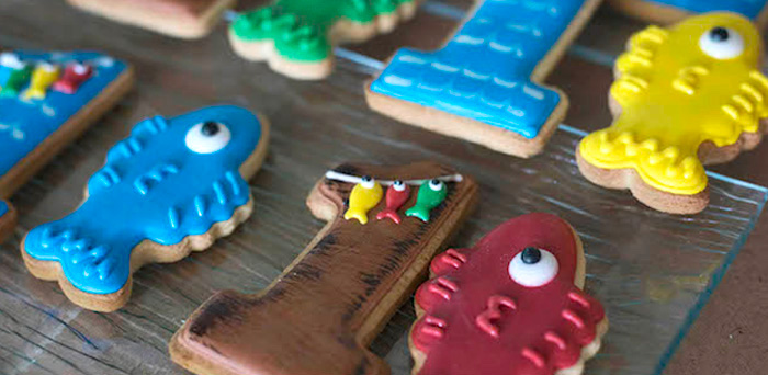 """O-Fish-ally One"" Fishing Birthday Party on Kara's Party Ideas | KarasPartyIdeas.com (1)"