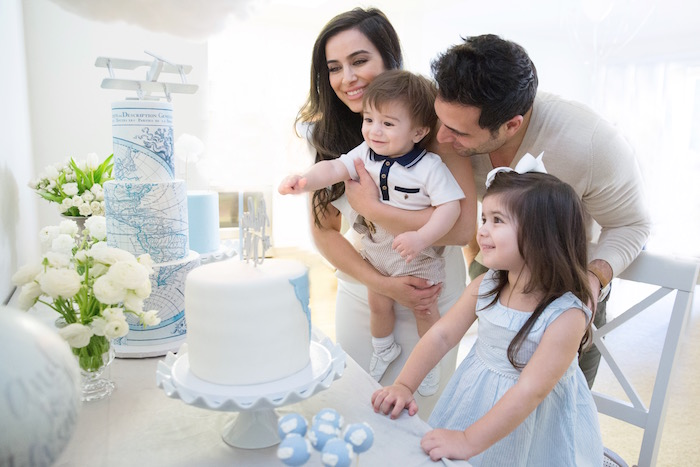 """Time Flies"" Vintage Travel Birthday Party on Kara's Party Ideas | KarasPartyIdeas.com (5)"