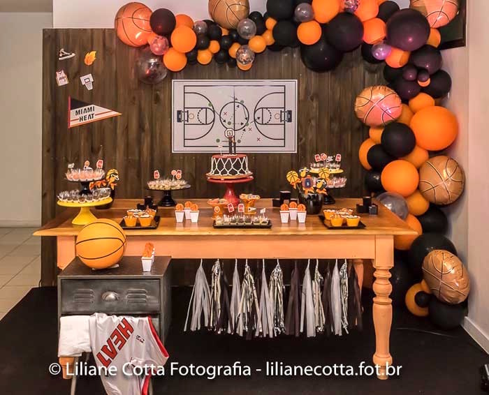 Basketball Birthday Party on Kara's Party Ideas | KarasPartyIdeas.com (20)