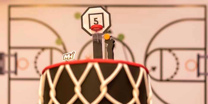 Basketball Birthday Party on Kara's Party Ideas | KarasPartyIdeas.com (1)