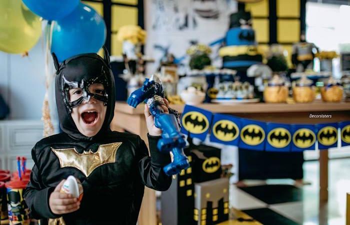 Batman Birthday Party on Kara's Party Ideas | KarasPartyIdeas.com (3)