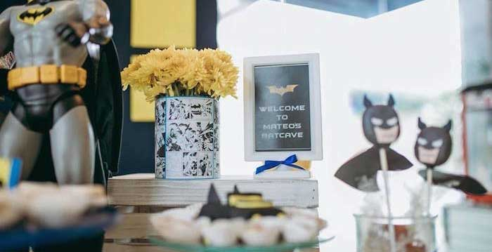 Batman Birthday Party on Kara's Party Ideas | KarasPartyIdeas.com (2)