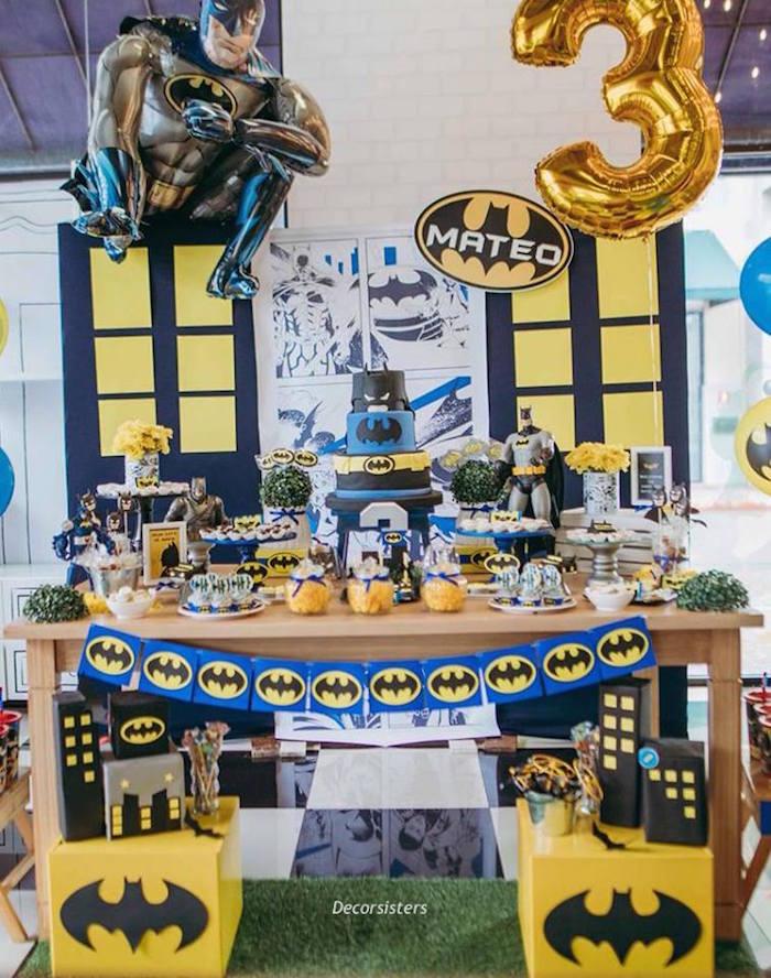 Batman Birthday Party on Kara's Party Ideas | KarasPartyIdeas.com (14)