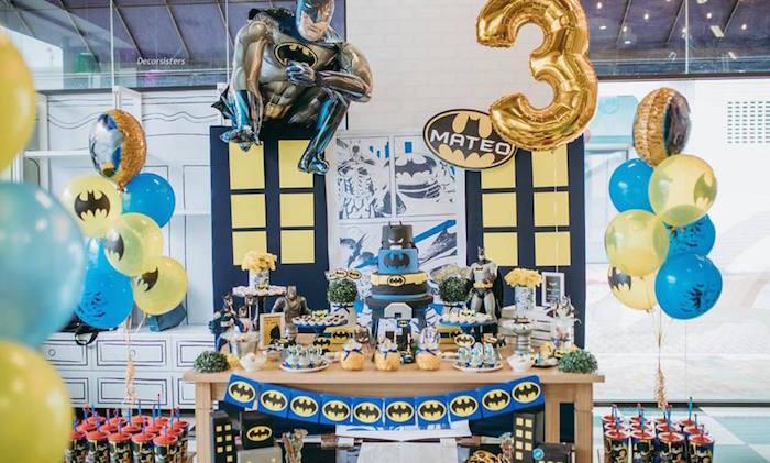 Batman Birthday Party on Kara's Party Ideas | KarasPartyIdeas.com (12)